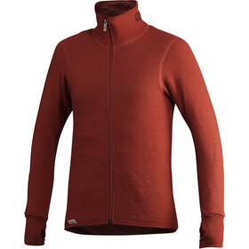 Woolpower 400 Jack Doorlopende Rits, autumn red